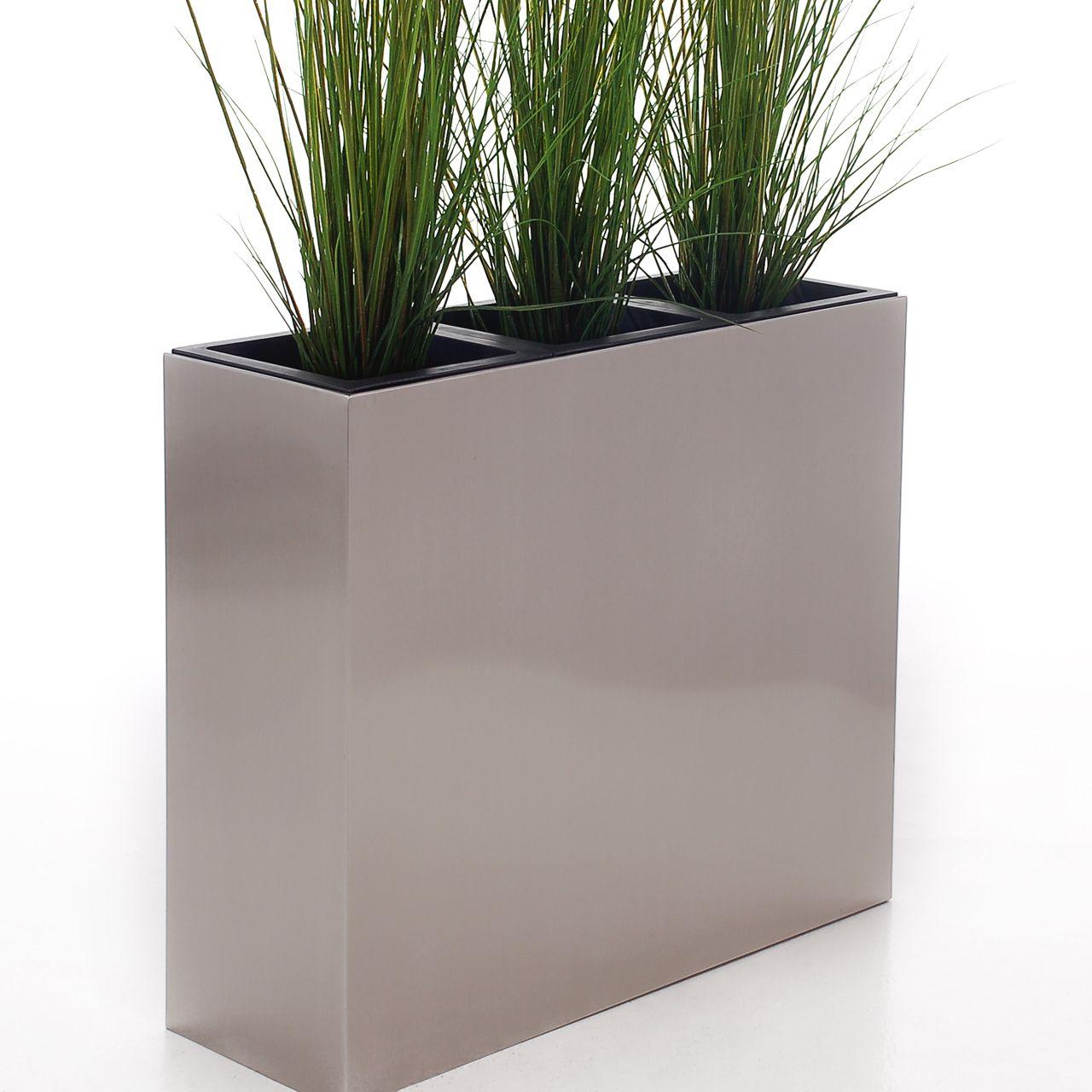raumteiler elemento aus edelstahl und cortenstahl. Black Bedroom Furniture Sets. Home Design Ideas